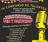 """VI Concurso de talentos """"Un Pilar de Estrellas"""""""