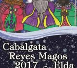 Cartel Cabalgata Reyes Elda 2017
