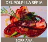 Cartel anunciador de las IV Jornadas del Pulpo y la Sepia de Borriana