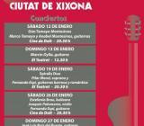XIV FESTIVAL INTERNACIONAL DE GUITARRA CIUTAT DE XIXONA