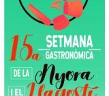 Cartel 15ª Semana Gastronómica