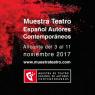 Muestra de Teatro de Autores Contemporáneos Alicante 2017