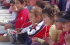 Niños disfrutando el circo callejero