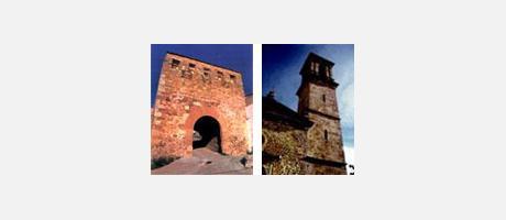 Img 1: Iglesia-Portal y Castillo