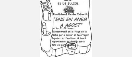 "Fiesta infantil tradicicional en Onil: ""Mon anem a Agost"""