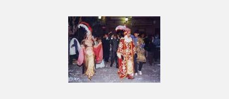 Foto: Danzas del rey moro en Agost