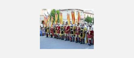 Img 1: Festes patronals de Moros i Cristians de Sant Pere Apòstol