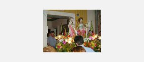 Img 1: The Santa Justa and Santa Rufina Feast Days