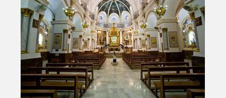 Interior del Santuario de la Virgen del Castillo