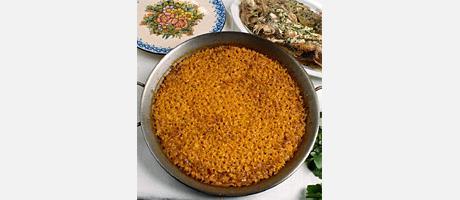 Imatge d'Arròs a Banda en una paella