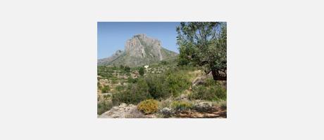 Img 1: Les Sierras de Benicadell et d'Agullent