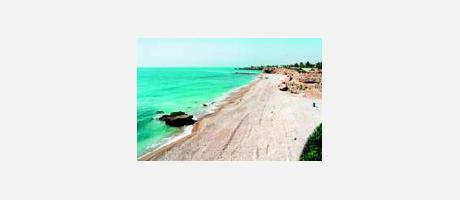 Foto: Playa Les Timbes de Vinaròs