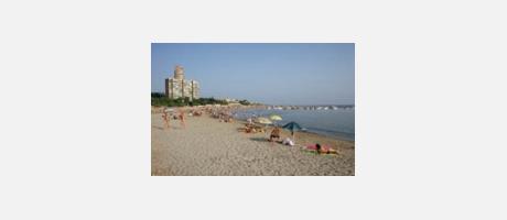 Almadraba beach in Alicante