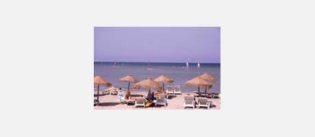 Img 1: Las Albaranas Beach