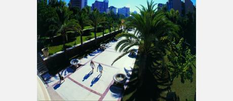 Parque de l'Aigüera en Benidorm