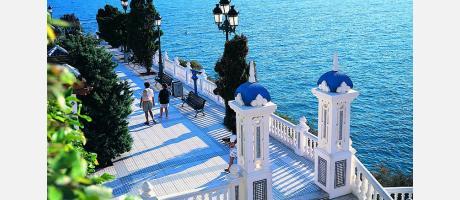 Mirador del Mediterráneo en Benidorm