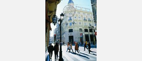 Calle céntrica de Castellón de la Plana