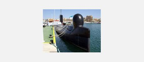 Foto: Submarino S-61 Delfín