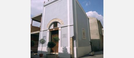 """Capilla de """"Sant Antoni"""". Uno de los edificios más antiguos de Manises."""