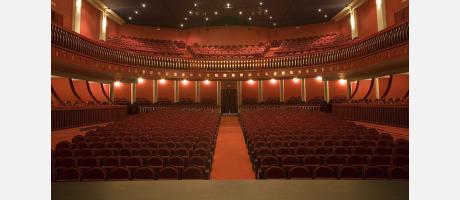 Patio y Anfiteatro desde el escenario