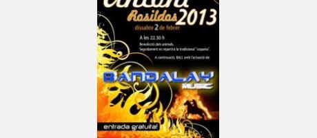 Img 1: Festividad de San Antonio Abad en los Rosildos