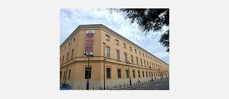Fachada del edicifio Centro Cultural de la Beneficiencia de Valencia