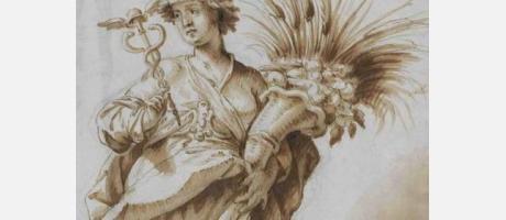 Img 1: Antonio Palomino (1655-1726). Dibujos en el Museo de Bellas Artes de Valencia
