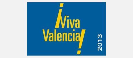 Cartel Oficial de Viva Valencia en el Ivam