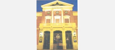 Img 1: Teatro en el teatro Principal de Castellón