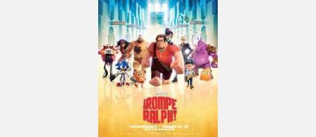 """Img 1: Cine en Vilafranca: """"¡Rompe Ralph!""""."""