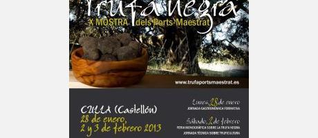 Cartel trufa negra Els Ports-Maestrat