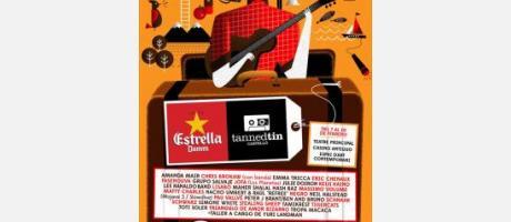 Cartel del festival Tanned Tin 2013