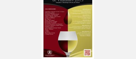 Img 1: IV Jornades del vi i de l´oli a Vilafamés.