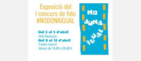 Img 1: Exposición del I Concurso de Foto Nodonaigual
