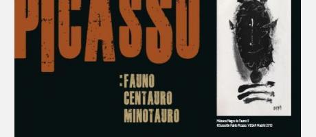 Img 1: Picasso. Fauno. Centauro. Minotauro en el Centro Cultural Bancaja de Valencia