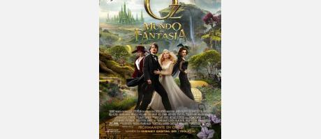 """Cartel """"Oz, un mundo de fantasia"""""""