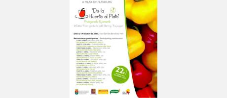 Img 1: I Jornadas Gastronómicas: de la Huerta al Plato en Pilar de la Horadada