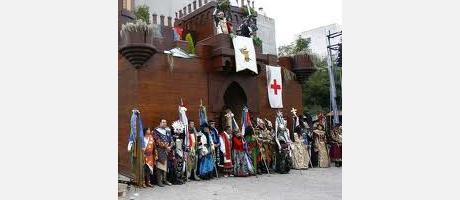 Img 1: Moros y Cristianos en Honor a San Vicente Ferrer 2013