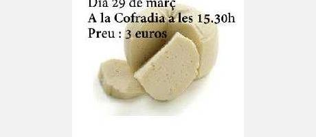 Img 1: Taller de elaboración de quesos en Castellfort.