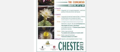 Img 1: VIII Congreso de Cactus y Suculentas de Cheste 2013