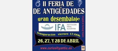 Img 1: II Feria de Antiguedades. Gran Desembalaje 2013