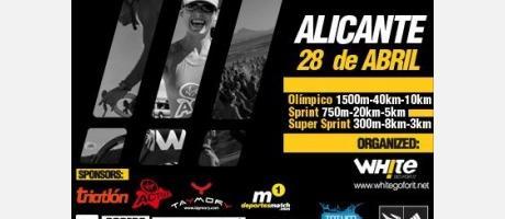 Img 1: Triatlón TriWhite Alicante 2013.