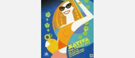 Cartel Feria Xátiva