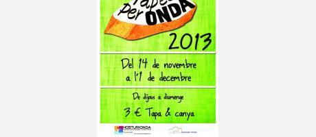 poster de taper per Onda 2013