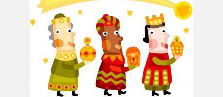 Llegada de Sus Majestades los Reyes Magos de Oriente