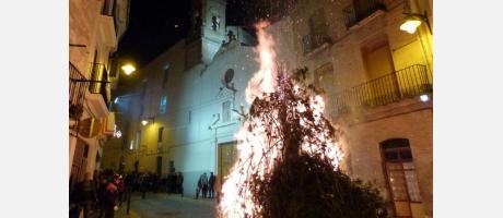 Hoguera de San Antonio Abad Ontinyent