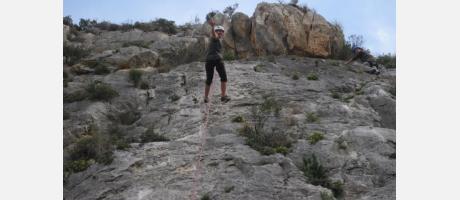 Escalada en el Morro de Toix con Tramuntana Aventura