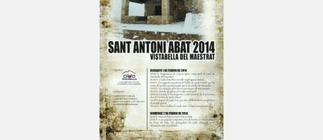 San Antonio Abad en Vistabella del Maestrat 2014
