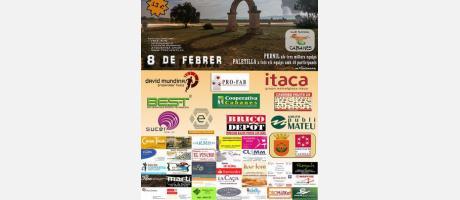 Cartel oficial XIV Marcha a pie Cabanes 2014