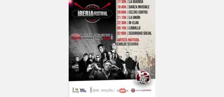 horarios concierto